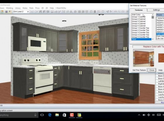 Dise o de gabinetes de cocina 3d programa tutorial en for Manual de cocinas integrales