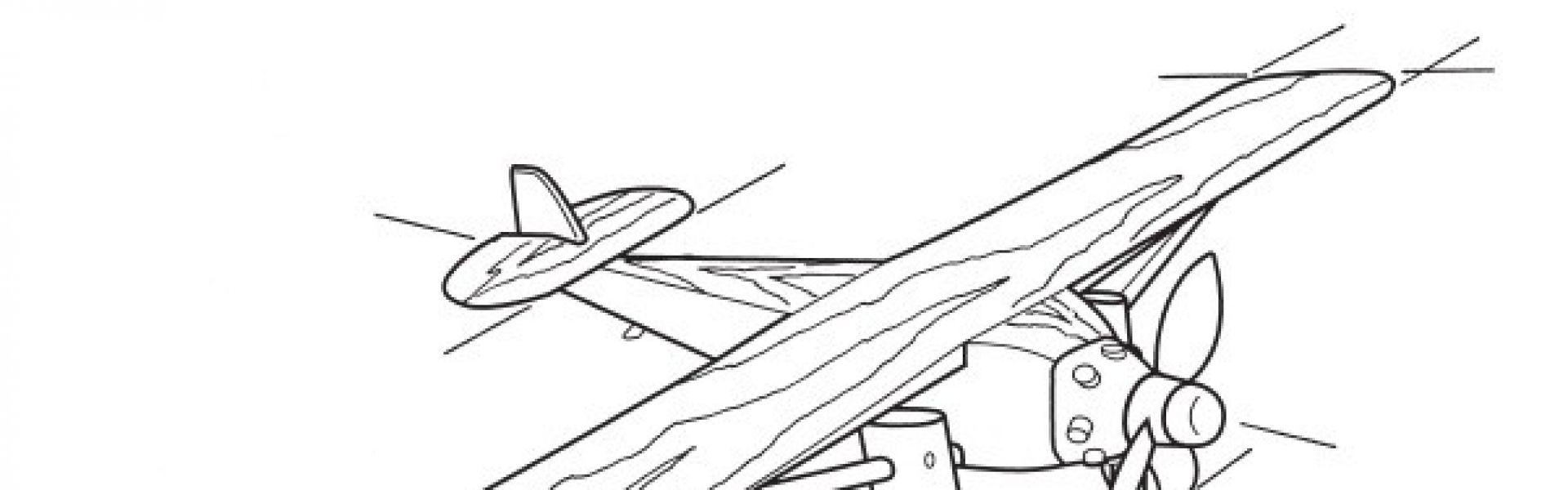 Clasimex.com Vintage Model Airplane - Modelo de Aeroplano Retro Wood Topics