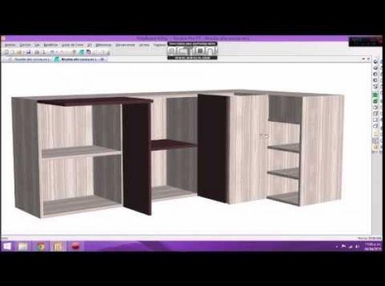 Clasimex.com Polyboard proyecto mueble alto cocina en L PolyBoard