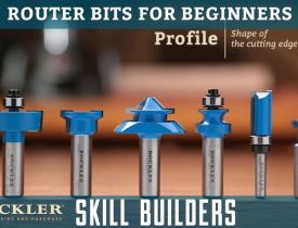 Clasimex.com Router Bits for Beginners | Rockler Skill Builders Technology