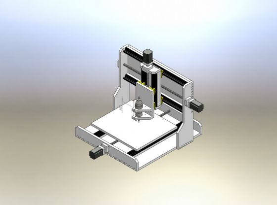 Clasimex.com Construye tu Router CNC Archivos en SLDPRT Completos Featured Router CNC Projects Technology Wood Topics
