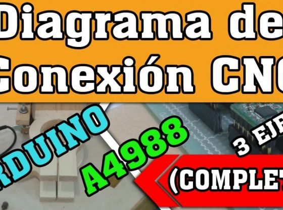 Clasimex.com Como Conectar 3 A4988 en Arduino (3 ejes, 3 motores) COMPLETO Router CNC Projects Tech Wood Topics