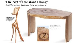 Clasimex.com American Craft / The Art of Constant Change Featured Lifestyle Wood Topics